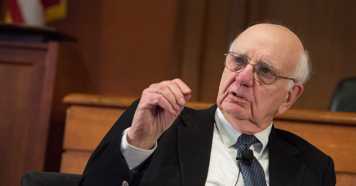 Paul Volcker, Stephen Moore, commodity prices, inflation, price level target