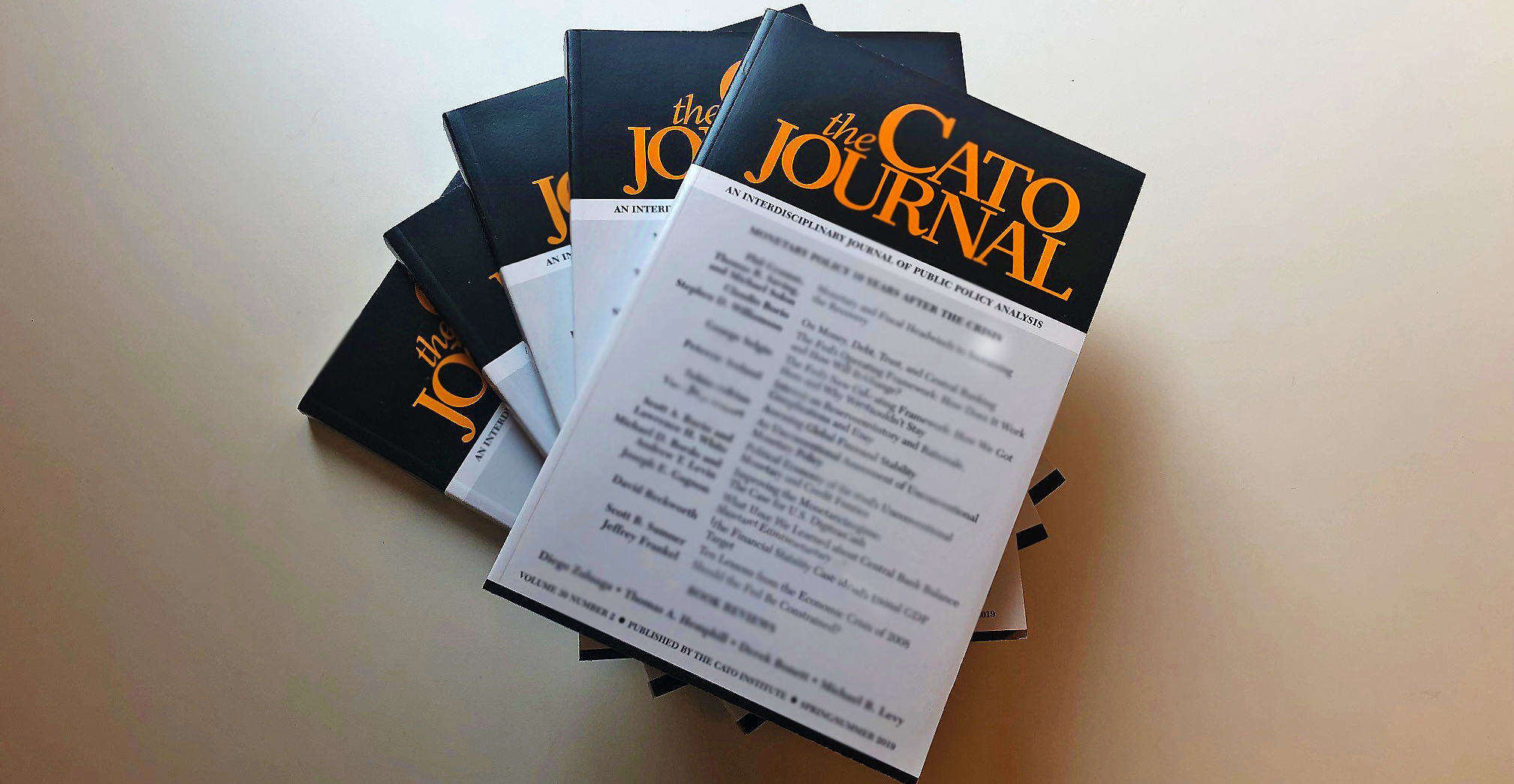 Monetary Policy, MMT, Financial Inclusion, Cato Journal, Fed